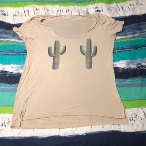 VS Pink Super Soft Cactus top